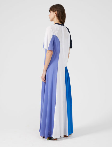 Geometric Print Maxi Dress Sportmax