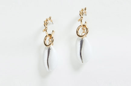 Drop Shell Earrings Sportmax