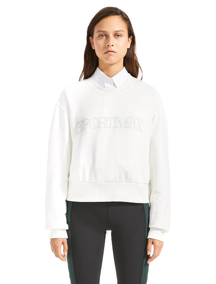 Logo-embossed Sweatshirt