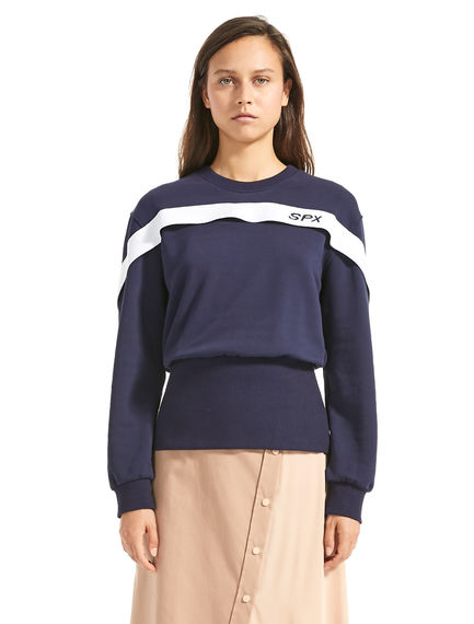 Sports Ribbon Sweatshirt Sportmax
