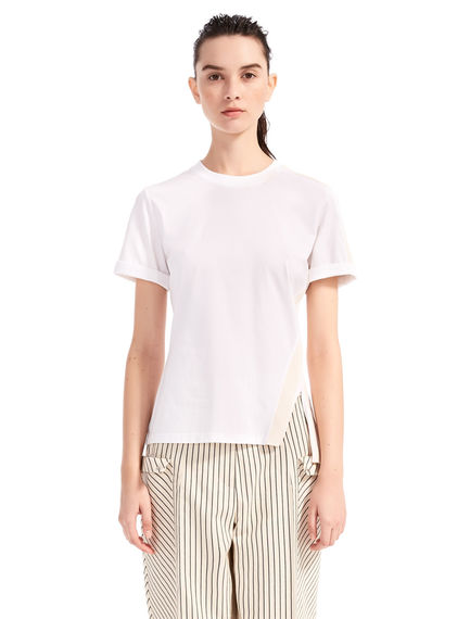 Ribbed Cotton T-shirt