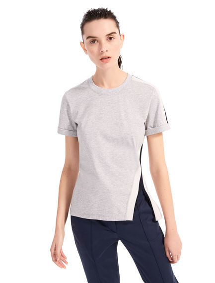 T-shirt in jersey a costine Sportmax