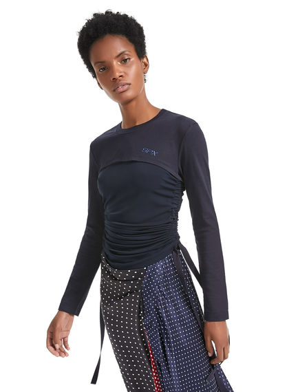 Ruched Long-sleeve T-Shirt Sportmax