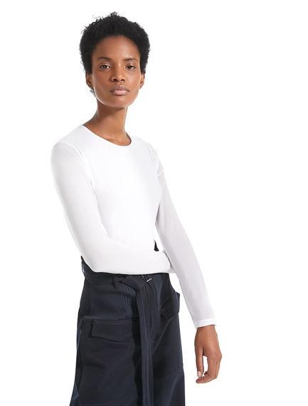 T-shirt leggera a maniche lunghe Sportmax