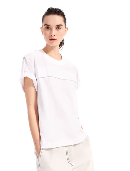 Banded Jersey T-shirt Sportmax
