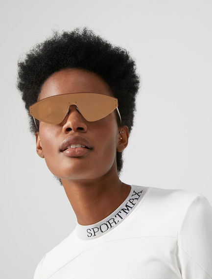 One-piece Speedster Metal Sunglasses Sportmax