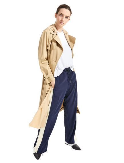 Sports-Inspired Trench Coat Sportmax