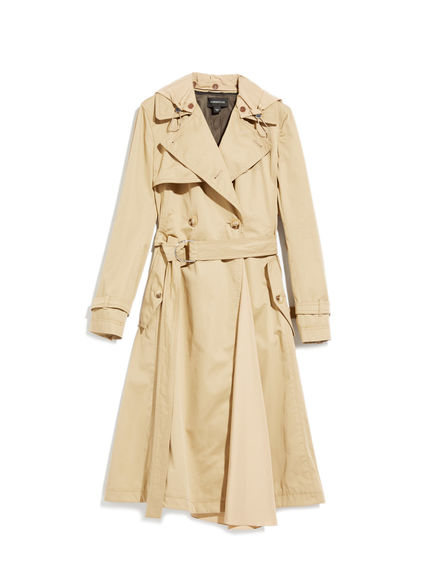 Sports-Inspired Trench Coat