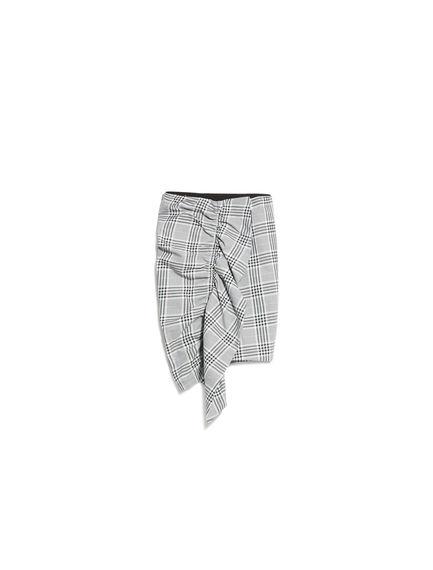 Prince of Wales Check Ruffle Skirt