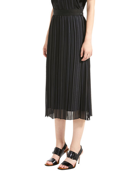 Chiffon Pleated Skirt Sportmax