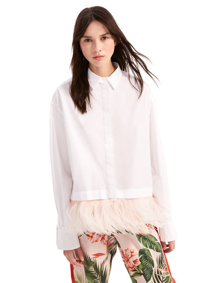 Transforming Feathered Shirt Sportmax