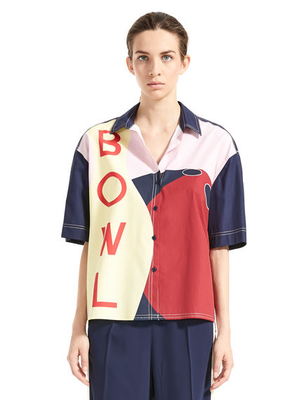 Graphic Bowling Shirt