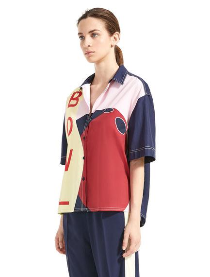 Camicia in stile bowling