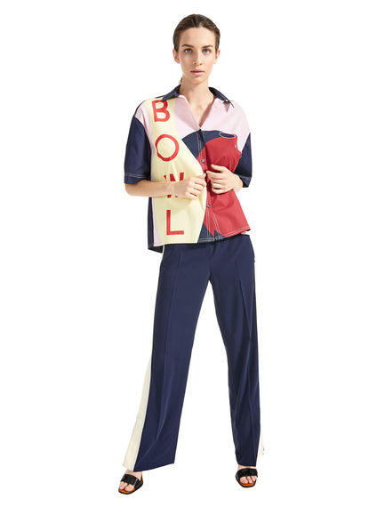 Graphic Bowling Shirt Sportmax