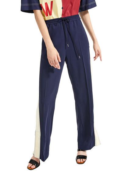 Pantaloni jogging con inserti a contrasto Sportmax