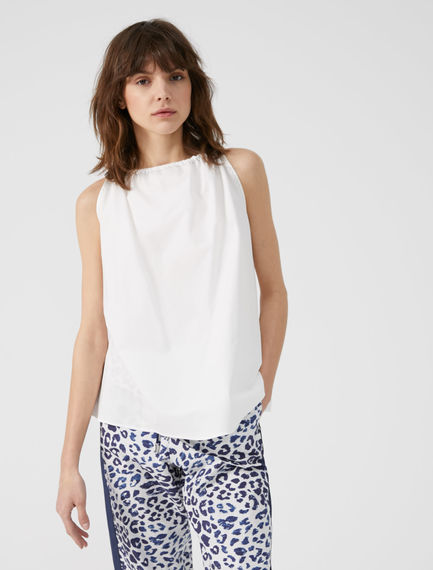 Drawstring Cotton Camisole Sportmax