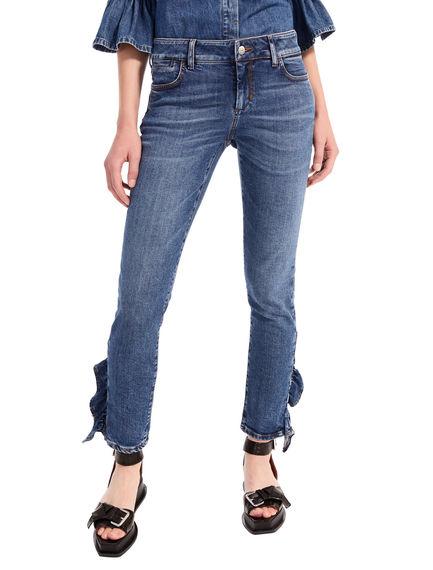 Flounce-Finish Skinny Jeans Sportmax