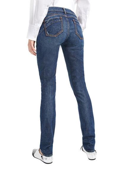 Jeans skinny con dettagli destroyed Sportmax