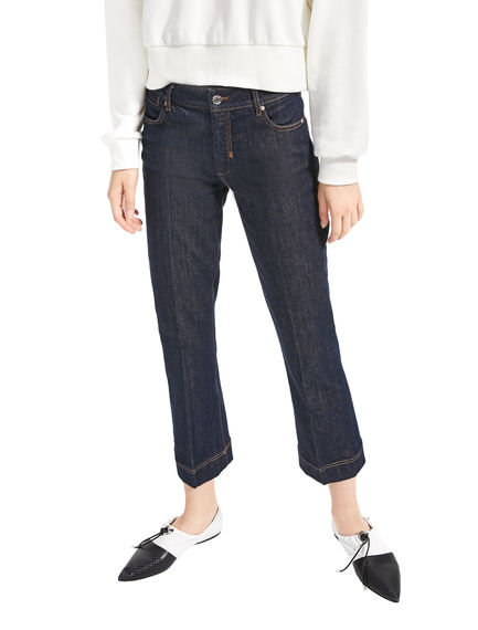 Cropped Kick-Flare Jeans Sportmax