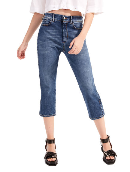Jeans capri in denim stretch Sportmax