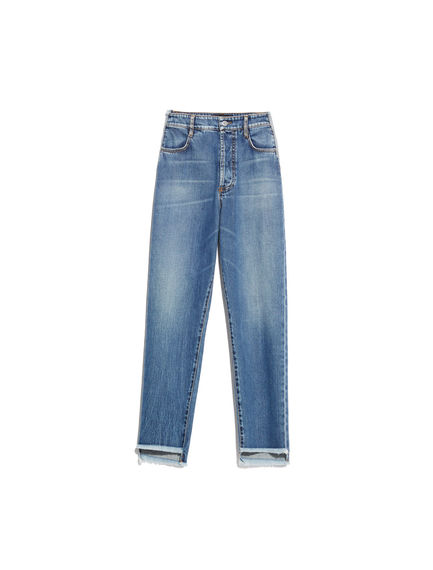 Mid-Wash Mom Jeans Sportmax