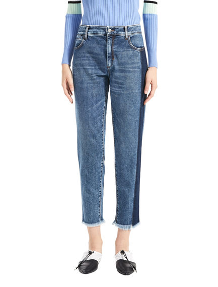 Two-Tone Cigarette Jeans Sportmax