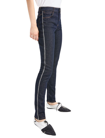 Jeans skinny in denim scuro Sportmax