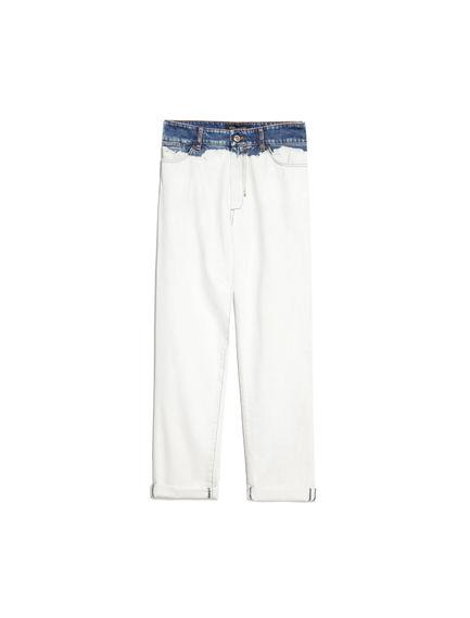 Dip Bleached Boyfriend Jeans
