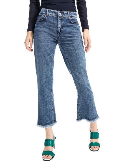 Slim Fringe-Flared Jeans Sportmax