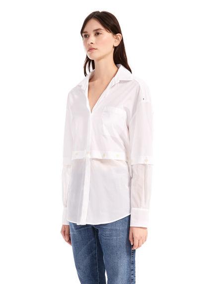 Transforming Cotton Shirt