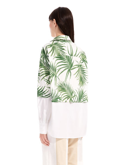 Transforming Palm Print Shirt Sportmax