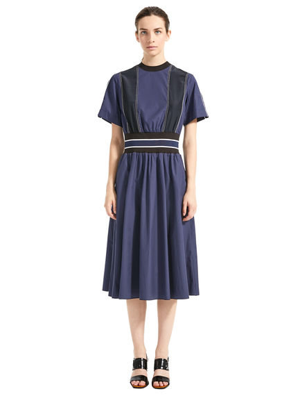 Two-tone Poplin & Silk Dress Sportmax