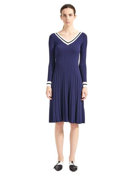 Fitted Rib Knit Dress Sportmax