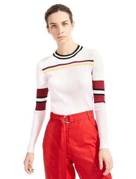 Colour-Block Ribbed Sweater Sportmax