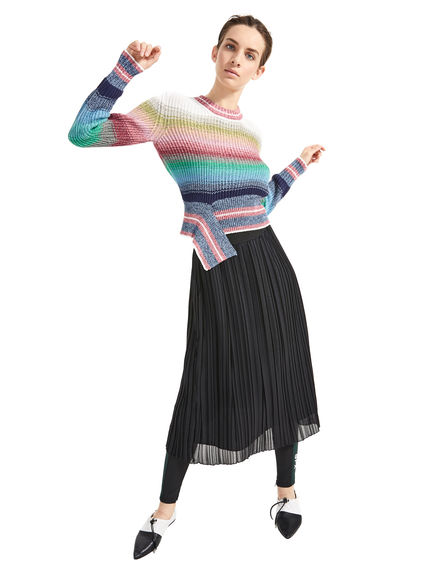 Degrade Striped Sweater