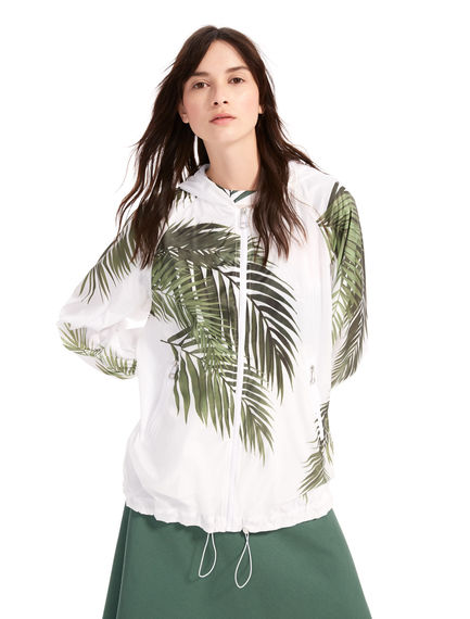 Palm Print Waterproof Bomber Sportmax