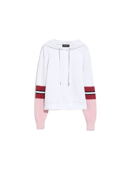 Hybrid Hooded Sweatshirt