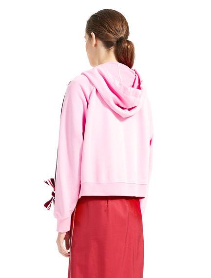 Appliqué & Tie Sweatshirt