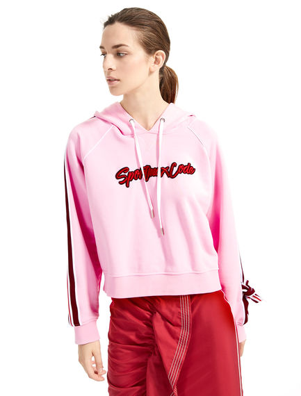 Appliqué & Tie Sweatshirt Sportmax