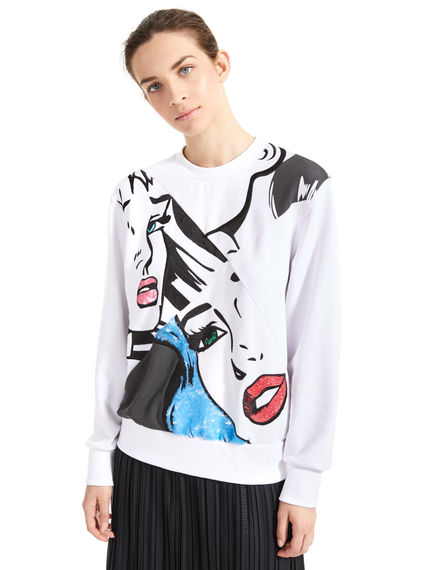 Sequinned Pop Art Sweatshirt