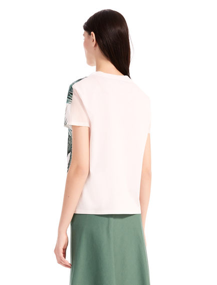 Hibiscus Silk & Cotton T-Shirt Sportmax