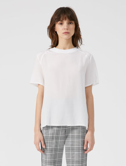 Silk & Cotton T-shirt