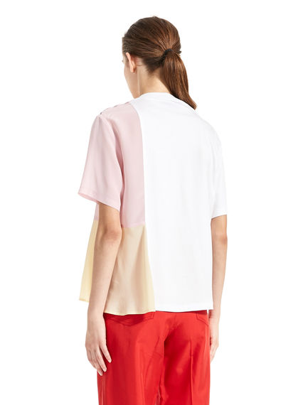 T-shirt effetto acquerello