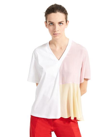 T-shirt effetto acquerello Sportmax
