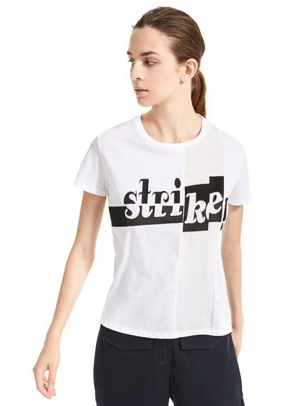 T-shirt con stampa Bowling Sportmax