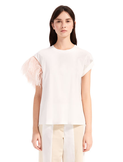 Feathered Transforming T-Shirt Sportmax