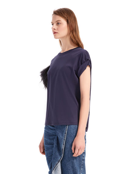 Feathered T-Shirt Sportmax