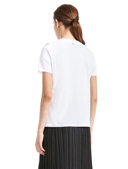 T-shirt con paillette pop-art