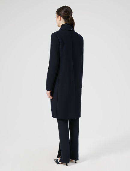 Minimalist Wool Coat