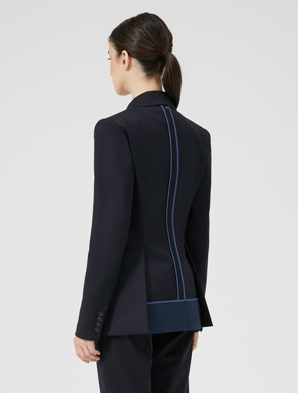 Inside-Out Tailored Blazer